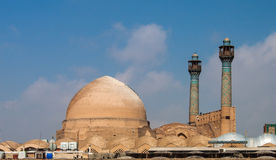 Jameh mosque in Isfahan Royalty Free Stock Images