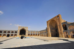 Jameh Mosque, isfahan, Iran Royalty Free Stock Photo