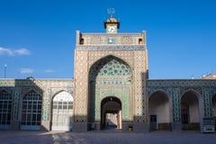 Jameh mosque in Kerman stock image