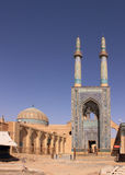 Jameh Mosque of Yazd (Iran) Stock Photography