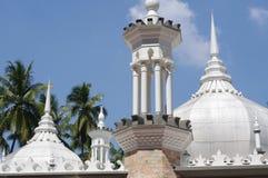 Jamek清真寺屋顶的细节  免版税库存照片