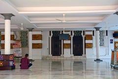 Jamek清真寺,吉隆坡,马来西亚 免版税库存图片
