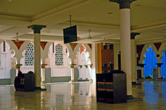 Μουσουλμανικό τέμενος Jamek, Κουάλα Λουμπούρ, Μαλαισία Στοκ φωτογραφία με δικαίωμα ελεύθερης χρήσης