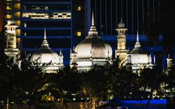 Jamek meczet w Puchong Perdana, Malezja Fotografia Royalty Free