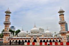 Jamek-Moschee in Kuala Lumpur Stockbilder