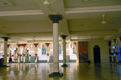 Jamek-Moschee, Kuala Lumpur, Malaysia Lizenzfreie Stockfotografie