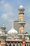 Jamek-Moschee, Kuala Lumpur, Malaysia Lizenzfreies Stockfoto