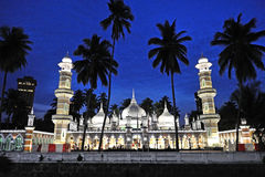 Jamek moské Arkivbild