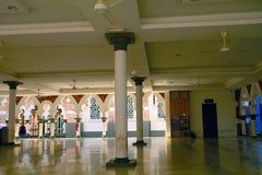 Jamek moské, Kuala Lumpur, Malaysia Royaltyfri Fotografi