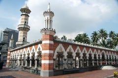 Jamek mosque. The famous jamek mosque in Kuala Lumpur Royalty Free Stock Photography