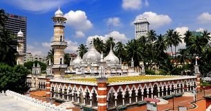 Jamek Mosque Stock Photo