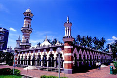 Jamek Mosque Royalty Free Stock Photography