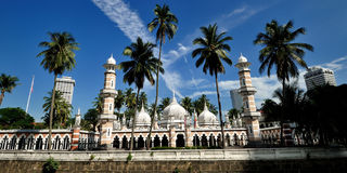 Jamek Mosque Stock Image