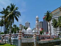 Jamek mosque Stock Photos