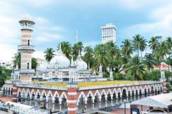 jamekKuala Lumpur moské Royaltyfria Bilder