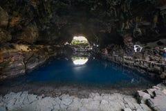 Jameos del Agua, à Lanzarote, les Îles Canaries, Espagne Image libre de droits
