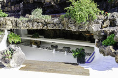 Jameos del Agua, Лансароте Стоковые Фото