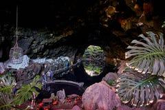 Jameos Del Agua, Lanzarote Zdjęcie Stock