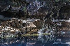 Jameos del Agua, Lanzarote fotografering för bildbyråer