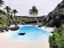 Jameos del Agua, Lanzarote arkivfoton