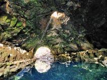 Jameos del Agua, Lanzarote royaltyfri foto
