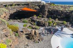 Jameos Del Agua, Lanzarote Fotografia Royalty Free