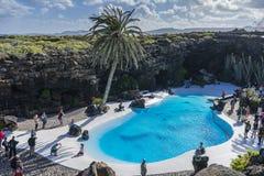 Jameos del Agua, Lanzarote royaltyfria bilder