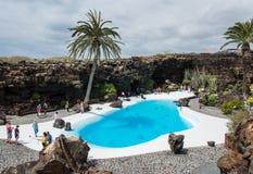 Jameos Del Agua, Lanzarote Zdjęcie Royalty Free