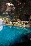 Jameos del Agua, Lanzarote. Amazing Jameos del Agua inside, Lanzarote, Canary Islands, Spain royalty free stock images