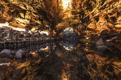 Jameos del Agua, Lanzarote, Canary Stock Photography