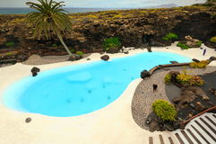 Jameos del agua in Lanzarote Island Royalty Free Stock Photo
