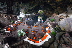 Jameos Del Agua, in Lanzarote, Kanarische Inseln, Spanien Lizenzfreies Stockfoto