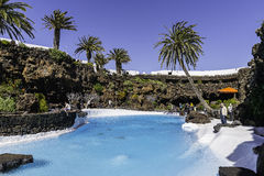 Jameos del Agua, Lanzarote Royalty Free Stock Photos