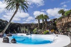 Jameos Del Agua, Lanzarote, Spanje Royalty-vrije Stock Foto's