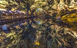 Jameos Del Agua, Lanzarote, wyspy kanaryjska, Hiszpania Fotografia Royalty Free