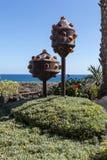 Jameos del Agua - The modern  sculpture designed by Cesar Manrique Stock Image