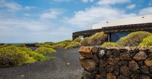 Jameos del Agua. Photography of a Jameos del Agua architecture , Lanzarote, Canary Island, Spain stock photo