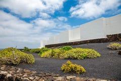Jameos del Agua. Photography of a Jameos del Agua architecture , Lanzarote, Canary Island, Spain stock image