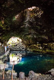 Jameos del Agua. Photography of Jameos del Agua cave, Lanzarote, Canary Island, Spain royalty free stock photography
