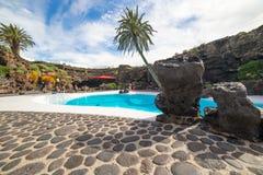 Jameos Del Agua w Lanzarote, wyspy kanaryjska, Hiszpania Zdjęcie Royalty Free