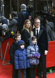 James γκρίζος και η οικογένειά του Στοκ εικόνα με δικαίωμα ελεύθερης χρήσης