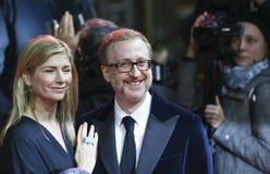 James γκρίζος και σύζυγος Αλεξάνδρα Στοκ φωτογραφία με δικαίωμα ελεύθερης χρήσης