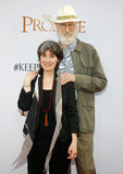 James Κρόμγουελ και Anna Stuart Στοκ Εικόνα