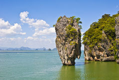 скрепленный остров james Стоковое Изображение RF