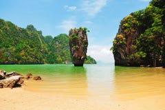 скрепленный остров james Таиланд Стоковое Изображение