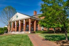 James B Duke Library in Furman royalty-vrije stock foto