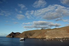 James bay. A view of James bay on the Island of Saint Helena, UK stock photo
