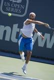 James Blake en el tenis abierto Tournam de Los Ángeles Foto de archivo libre de regalías