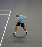 James Blake of the U.S. in actions Royalty Free Stock Images