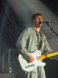 James Blunt au symphonie à la tour Image stock